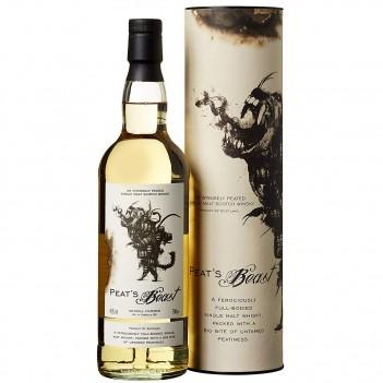 Whisky Velho Peat´s Beast Whisky Single Malt - Escócia