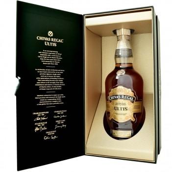 Whisky Velho Chivas Regal Ultis Whisky Blended Malt - Escócia