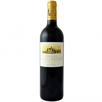Vinho Tinto Chateau D Agassac Haut Medoc 2012