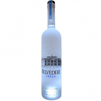 Vodka Belvedere Pure Luminous - Magnum 3 Litros