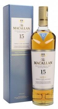 Whisky Macallan 15 Anos Triple Cask Single Malt