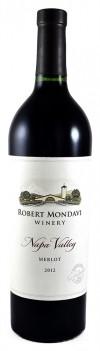 Napa Valley Robert Mondavi Merlot 2012