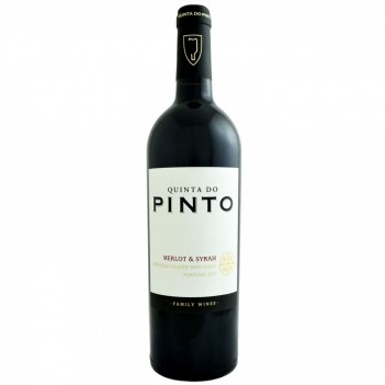 Vinho Tinto Quinta do Pinto Merlot Syrah - Lisboa 2016