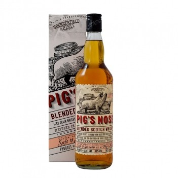 Whisky Pigs Nose Blended - Escócia