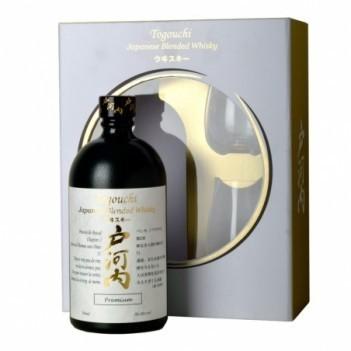 Whisky  Togouchi Japonese com Copos