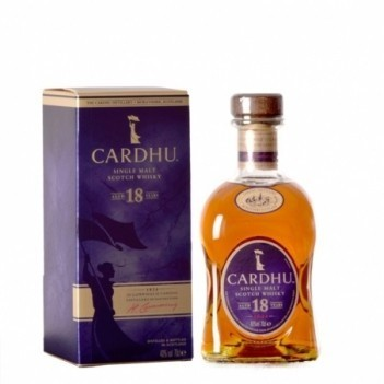 Whisky Cardhu Malt 18 Anos - Whisky de Malte