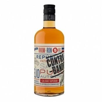 Rum Contra-Bando Anejo 5 Anos - Rum Republica Dominicana
