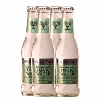 Agua Tonica Fever Tree Elder Flower    4 Unidades