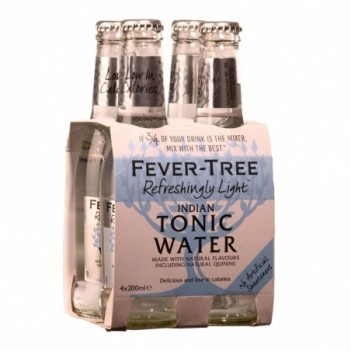 Agua Tonica Fever Tree Indian Light    4 Unidades