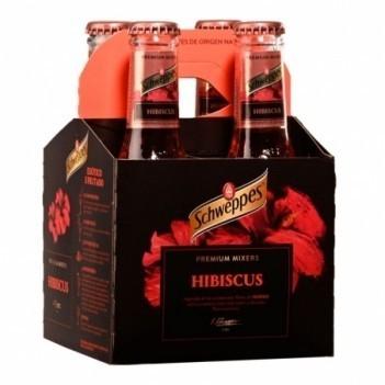 Agua Tonica Schweppes Premium Hibiscus   4 Unidades
