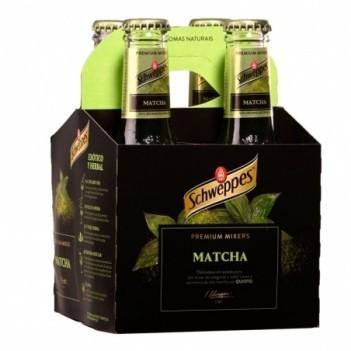 Agua Tonica Schweppes Premium Matcha   4 Unidades