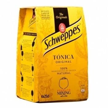 Agua Tonica  Schweppes   4 Unidades