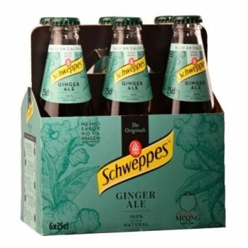 Ginger Ale Schweppes  6 Unidades