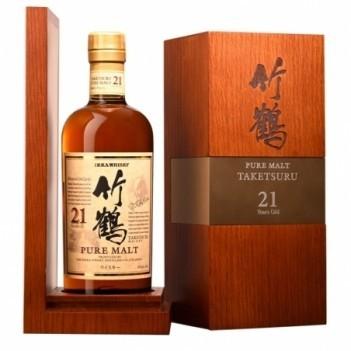 Whisky Nikka 21 Anos Taketsuru - Japonês