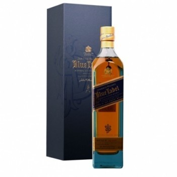 Whisky Velho Johnnie Walker Blue Label Luxe - Escócia