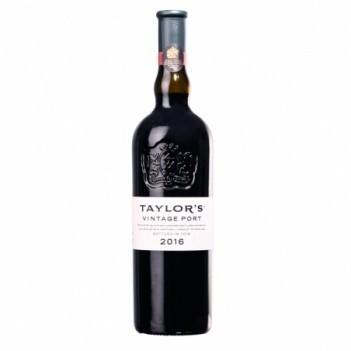 Vinho do Porto Vintage Taylors s/ Caixa Madeira 2016