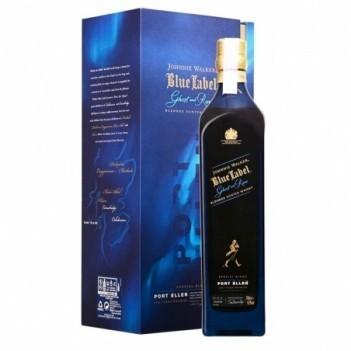 Whisky Velho Johnnie Walker Blue Label Ghost & Rare Port Ellen - Escócia