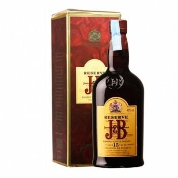 Whisky Velho J & B 15 Anos - Escócia