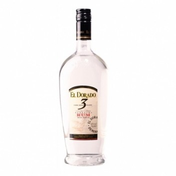 Rum El Dorado Blanco 3 Anos