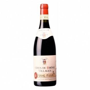 Vinho Tinto Vidal Fleury Cotes du Rhone Villages - França 2016
