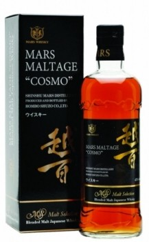 Whisky Mars Komagatake Maltage Cosmo - Japonês