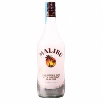 Malibu - Caribbean Rum With Coconut Flavour
