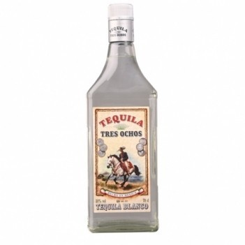 Tequila 3 Ochos   Silver  Imported