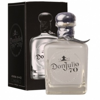 Tequila Don Julio Cristalino Anejo 70 th