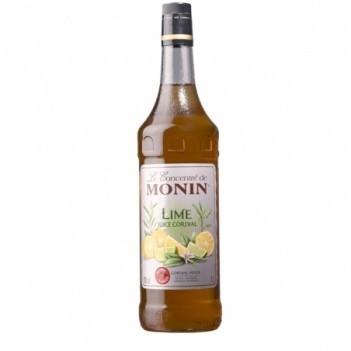 Monin Lime Juice (S/Alcool) Litro Monin Concentrado