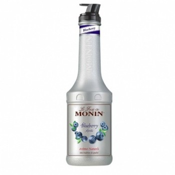 Monin Puree  Mix Blueberry  Mirtilos    Litro