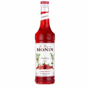 Xarope Monin Cranberry (S/Alcool)