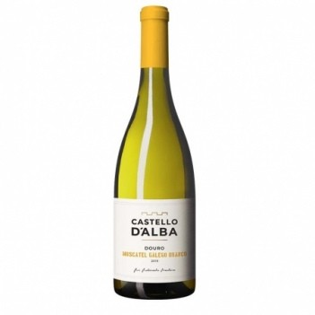Vinho Branco Castello D'Alba Moscatel Galego - Douro 2019