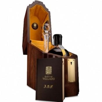Vinho do Porto Vintage Vallado ABF Very Old Deluxe Port & Decanter