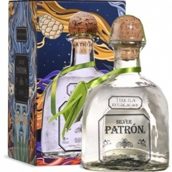 Tequila Patron Silver Limited Edition Lata
