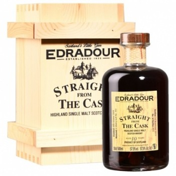 Whisky  Edradour  Old Straight Cask   10 Anos