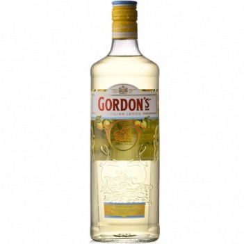 Gin Gordons Sicilian Lemon