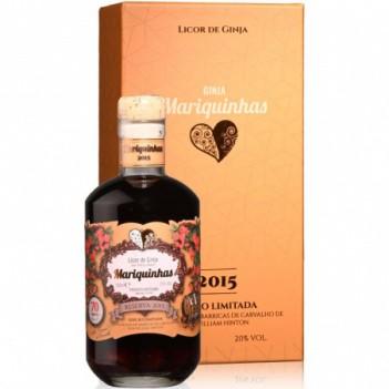 Licor Ginja Mariquinhas  Reserva C/ Rum