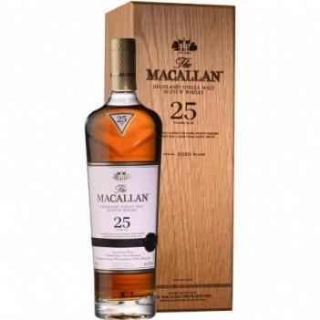 Whisky Macallan Sherry Oak 25 Anos   C/ Estojo