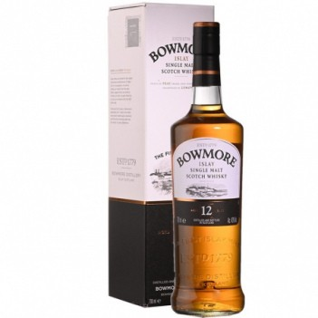 Whisky Bowmore  12 Anos