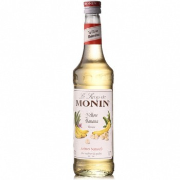 Monin  Xarope Banana Amarela   (S/Alcool)