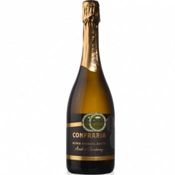 Espumante Confraria Arinto e Chardonnay - Super Reserva Bruto 2016