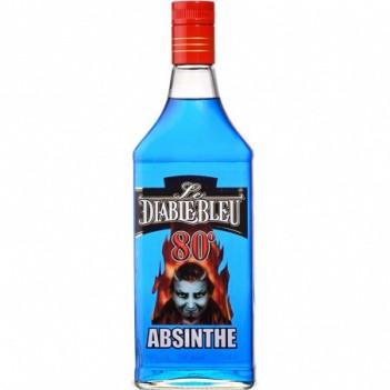 Absinto  Le Diable Blue 80º