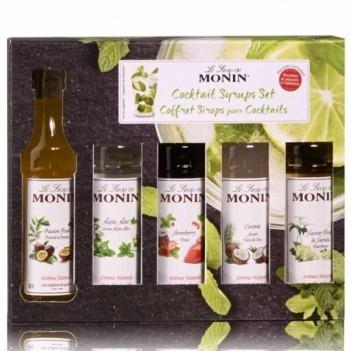 Monin Cocktail Xarope Set (5 x 5cl)