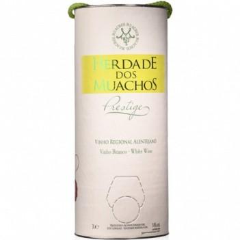 "Vinho Branco Muachos  Prestige  Branco  "" Wine Tube "" 3 Litros"