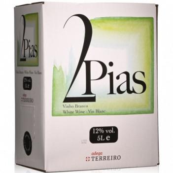 Vinho Branco 2 Pias  Bag In Box   5 Litros