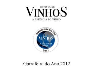 Prémio 2012 Revista de Vinhos
