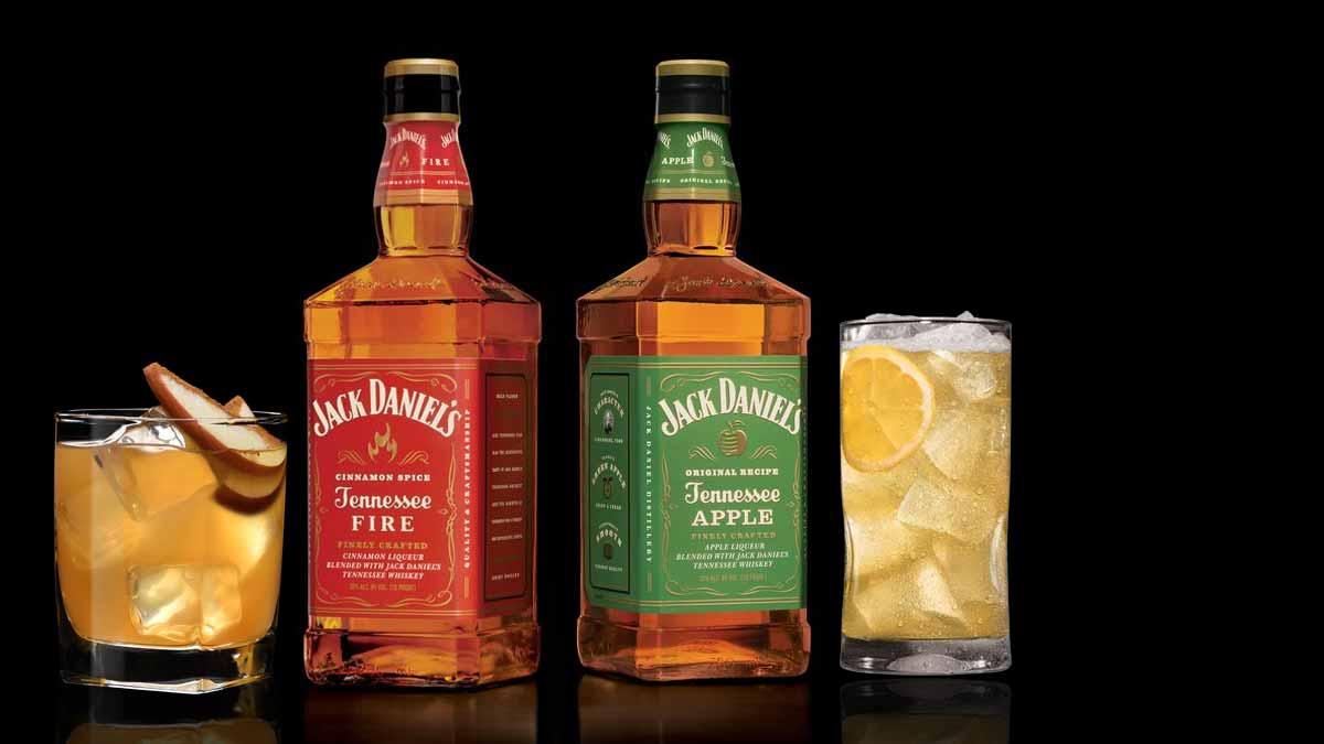 Jack Daniel's Whisky: Dois novos sabores Fire e Apple.